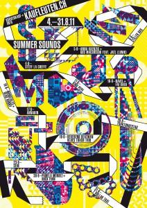 Flyer Kaufleuten Summer Sounds